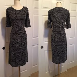 LuLaRoe Julia Dress | Elegant Noir Collection